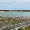庸原地区の農業貯水池(沖縄県波照間島)