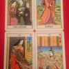 浮世絵タロットカード使っておます