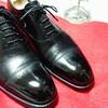 黒靴はやはりピカッ!としてないとね♪