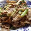 幸運な病のレシピ( 689 ) 昼:パテから作ったギスとほっちゃれ鮭と鳥胸の団子入り煮しめ、豚と青梗菜の炒め