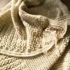 かぎ針編みの変形ストール