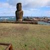 イースター島散策  タハイ儀式村