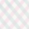 ピンクとみずいろのふんわりチェック壁紙