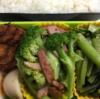 『H家』の、質実剛健「絆」弁当 Vol.2-本日は「カルシウム」がスゴイ『小松菜』に注力!