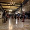王宮でのジャワ舞踊練習