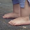 足裏をよくみると家族のスキンシップができる?