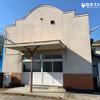 山梨県富士川町、大久保公民館の白ポスト