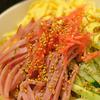 節約ごはん!パスタ麺 → 中華麺に変身!冷やし中華はじめました。ベーキングソーダ(重曹)