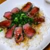 安い肉を柔らかく。シャリアピンステーキの作り方。