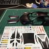 Revell マクラーレン 570S 製作 ⑤ デカール貼り