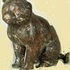 平泉の銀猫は高山寺の猫バージョンか