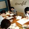 レッスンレポート)6/24本川町教室 暑くても今から冬物を編めば今年の冬に間に合います