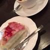 水曜日はケーキセットがお得!喫煙ですが、いい雰囲気の中で休憩♪ [珈琲の辞書 第2章] 大阪駅前第4ビル