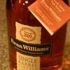 『エヴァン・ウィリアムス』ビンテージ、樽詰め日まで記された、こだわりのシングルバレル。
