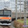 《JR東日本》【写真館484】首都圏で絶滅寸前の205系、懐かしいオレンジをまとった編成