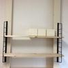 ディアウォールよりもつかいやすい「ラブリコ」を使って棚用の柱を作ってみました。