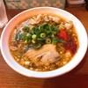鶴橋のひるドラで辛口炙り肉ソバの醤油の方を食べてみました