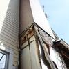 煙突ボックス補修、途中経過1