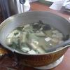 幸運な病のレシピ( 429 )朝:牛肉とタケノコの炒め、タケノコの煮つけ、鮭、みそ汁