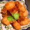 豚バラ肉と里芋と牛蒡の韓国味噌煮っころがし