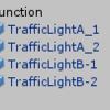 交差点の信号機の制御