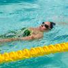 中級背泳ぎと年賀状