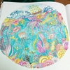 『海の楽園』完成作品ギャラリー②船底の珊瑚礁のページ