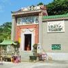 【香港:南丫島】 ラマ島もう一つの港 『索罟灣』  観光スポットの洞窟 『神風洞』 や 香港のお寺 『天后廟』 の様子など