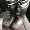 長靴新調👢