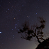 ポータブル赤道儀を使った冬の星空撮影@長野県阿智村 治部坂高原