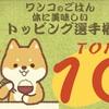 ワンコのごはんトッピング選手権・体においしいトップ10をご紹介