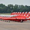 【エアタトゥー】イギリス空軍「レッドアローズ」のアクロバット飛行/RIATにて... カラースモーク祭り