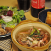 タコ唐揚げとアヒージョっぽい料理
