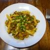 ひよこ豆のパスタ④和風ソース