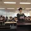 大学院学位授与式。