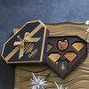ベルギーから本場ショコラ 「デルレイ」 クリスマスダイヤモンドBOX