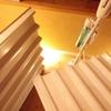 折板の収まり