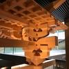 竹中大工道具館で我が国の建築について見てきました