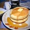 昭和レトロの喫茶店の定番、ホットケーキ