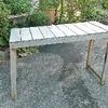 盆栽棚の補修とリニューアル