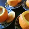 娘と一緒に丸ごとオレンジゼリー