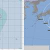 【台風情報】台風13号『サンサン』が3日午前9時に南鳥島近海で発生!北西進ってなってるけど、関東直撃コース!?