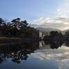 冬の興福寺/吹きすさぶ寒風に五重塔はどこ吹く風。古代と変わらぬ姿を見ていると歴史の中を散策している気分です。