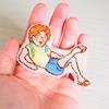 松倉海斗・夏の一張羅〜両肩にアルパカを添えて〜 を刺繍にしてみた
