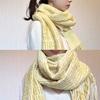 【石徹白】手織りのガラ紡ストール