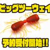 【レイドジャパン】サイトフィッシングワームの新サイズ「ビッグツーウェイ」通販予約受付開始!