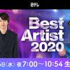 ベストアーティスト2020