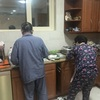 両親とアブダビで過ごす至福