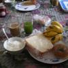 ネパ-ル滞在日記 続編 その8回目 ネパ-ルの朝食