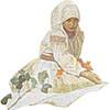 「スラブ叙事詩ミニクイズ」花を摘む女性を探せ!
